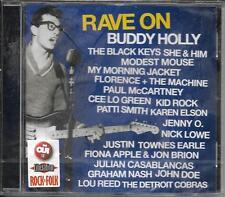 CD 19T RAVE ON BUDDY HOLLY THE BLACK KEYS/PAUL McCARTNEY/LOU REED/JOHN DOE ..NEW