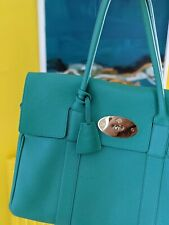 Vintage Mulberry Bayswater Bag Aqua Green