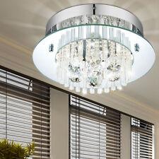 LED Decken Lampe DESIGN Hänge Lüster Leuchte Glas Kristall Behang Kronleuchter