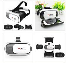 3D Virtual Reality VR Glasses Headset Box Helmet Remote for Samsung S6 S7 Edge