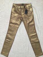 Guess by Marciano Jeans - 5 tasche - Gold - nuovo con etichetta