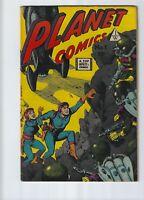 Planet Comics # 1  I.W. Enterprises Reprint # 70 Attack on Planet Mars 1958 1963
