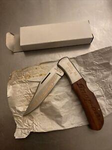 Kershaw Folding Knife Big Joe Snap On 70th Anniversary 1990 New 100% Original