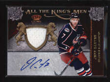 JEFF CARTER 2011/12 CROWN ROYALE ALL THE KINGS MEN JERSEY AUTO #019/100 AB5747