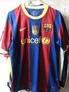 Maglia Shirt Camiceta Barcellona Spain WC 2009 Unicef Tg M  Perfect