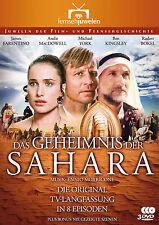 Das Geheimnis der Sahara, Langfassung Teil 1-8+DeletedScenes, Fernsehjuwelen DVD