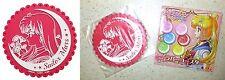 Sailor Moon Crystal Rubber Coaster Sailor Mars Rei Hino Plex Licensed New