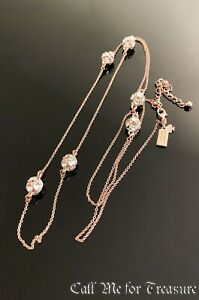 """Kate Spade rose gold long necklace 32"""" NEW"""