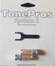 SCS1-C TonePros Standard (US Thread) Small Cap (Gibson Size) Locking Stud,Chrome