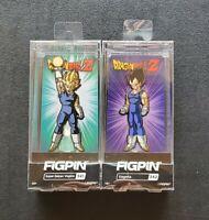 Figpin Dragon Ball Z Vegeta Lot Of 2