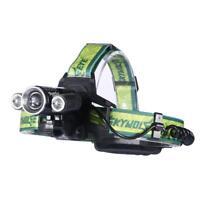 Skywolfeye 30000 LM  3 X-XML T6 LED Headlight 18650 Flashlight Torch Lamp GA