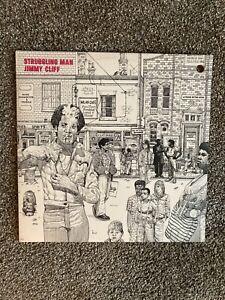 Jummy Cliff - Struggling Man - Vinyl LP - EX/EX.  SW-9343.  See Pics