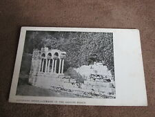 Early Yorkshire Postcard -remains of Galilee Porch - Fountains Abbey Nr Ripon