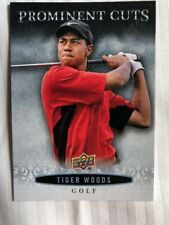 2018 UD National Sports Card Convention Promo Prominent Cuts #PC-8 Tiger Woods