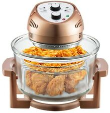BIG BOSS 16 Qt. Countertop Oil-less Fryer Oven/Rotisserie and Convection, Copper