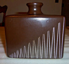Haeger Pottery--Brown Vase--Larry Laslo--2003