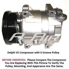 Chevrolet Aveo Pontiac Wave5 2004 - 2009  OEM Delco V5 AC Compressor 6 Groove