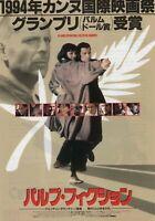 Pulp Fiction 1994 B Quentin Tarantino John Travolta Japanese Chirashi Flyer B5
