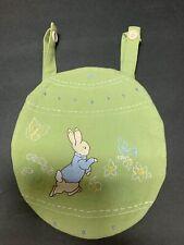 Pottery Barn Kids Easter Peter Rabbit Beatrix Potter Chairbacker Chair Treat PrO
