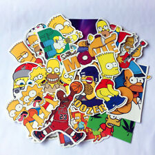 25x Simpson Car Sticker Decal Emblem Self Adhesive Vinyl 25pcs