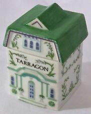 Lenox Spice Village Tarragon Replacement Fine Porcelain Spice Bottle 1989 Green