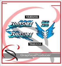 Yamaha Banshee Decals 1992 Blue Replica Graphic Reproduction Custom Full Set