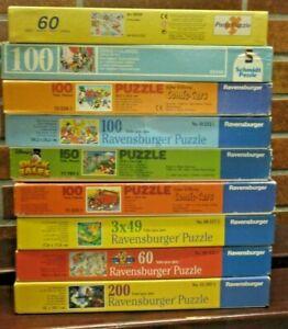 Ravensburger Puzzle Paket Konvolut Sammlung - 9 x Disney - 49 - 200 Teile