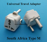 South Africa Type M Universal Travel Adaptor for UK USA AUS EURO AC Power plug