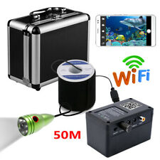 Wifi Wireless 50M Underwater Fishing Camera Kit Fish Finder For IOS Android APP