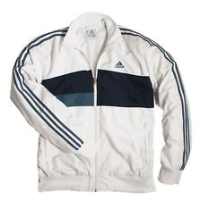 Adidas Retro Tracksuit Jacket - White - L