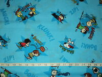 NEW 100% Cotton Peanuts Snoopy Charlie Brown Quilting Fabric Sold By Half Yard