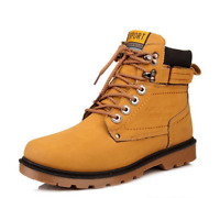 Mens Casual Shoes Lace up Oxfords warm winter snow Ankle Boots High Top Fashion
