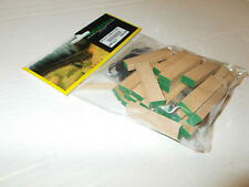 GRAND CENTRAL GEMS HO SCALE LUMBER LOADS WITH THE ENDS PAINTED (GREEN)