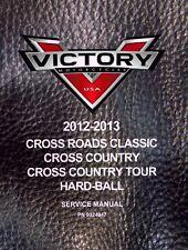 Victory Service Workshop Shop Repair Manual 2012 Cross Country Tour