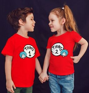 matching t-shirts  mom dad 1 2 names nice new kids adults one Halloween