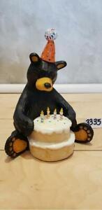 Bear Foots Bearfoots Bear - Happy Birthday Bear - Jeff Fleming - Big Sky Carvers