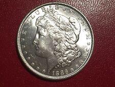 1886-P MORGAN SILVER Dollar Beautiful BU Coin $1 - 1886P