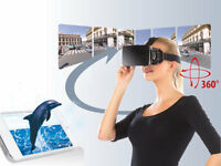 """VIRTUAL REALITY 3D BRILLE*SMARTPHONE/IPHONE*4,5""""-5,7""""*KOPFBAND*PEARL*VRB60.3D"""