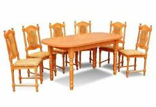 Tisch- & Stuhl-Sets im Landhaus-Stil aus Holz für die Küche