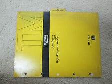 John Deere A22 High-Pressure Washer Technical Manual TM-1133