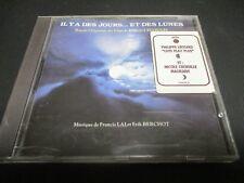"""CD BOF """"IL Y A DES JOURS ET DES LUNES Claude Lelouch"""" Francis LAI / Erik BERCHOT"""