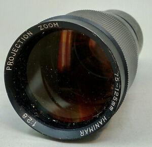 Vintage HANIMAR Projection Zoom 75-125mm f:2.8 Lens