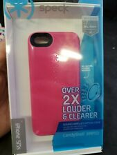 Speck iphone 5/5c, over 2x louder and clearer, canyshell AMPED, pink spk-a291