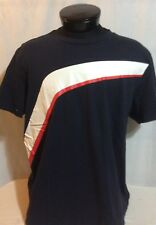 Blue Puma Red & White Stripe BMW Motorsport T-Shirt XXL