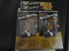 THE BEST OF DEAN MARTIN VARIETY SHOW VOL. 1-12 VHS SET BRAND NEW
