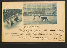 2609.-CORRIDA DE TOROS -Banderillas  (enviada a Venecia en 1904)