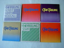 THE FEELING job lot of 6 promo CDs Without You Join With Us Sewn Turn It Up