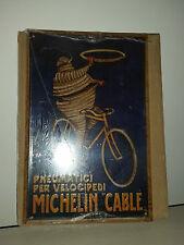 TARGA MICHELIN CABLE riproduzione in latta