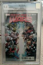 Secret Wars 1B Cheung Retailer Incentive 1:100 Variant CGC 9.8 2015