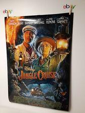 Jungle Cruise Poster Dwayne Johnson Emily Blunt Movie